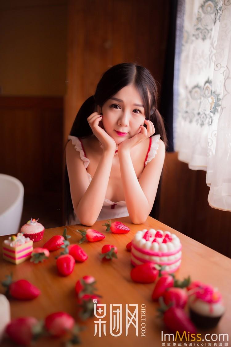 [果团网-熊川纪信] 2018-02-24 No.024 草莓女孩 [40+1P]